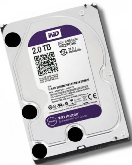 HDD 2TB Western Purple
